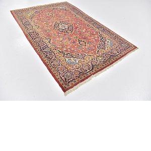 4' 10 x 7' 5 Kashan Persian Rug