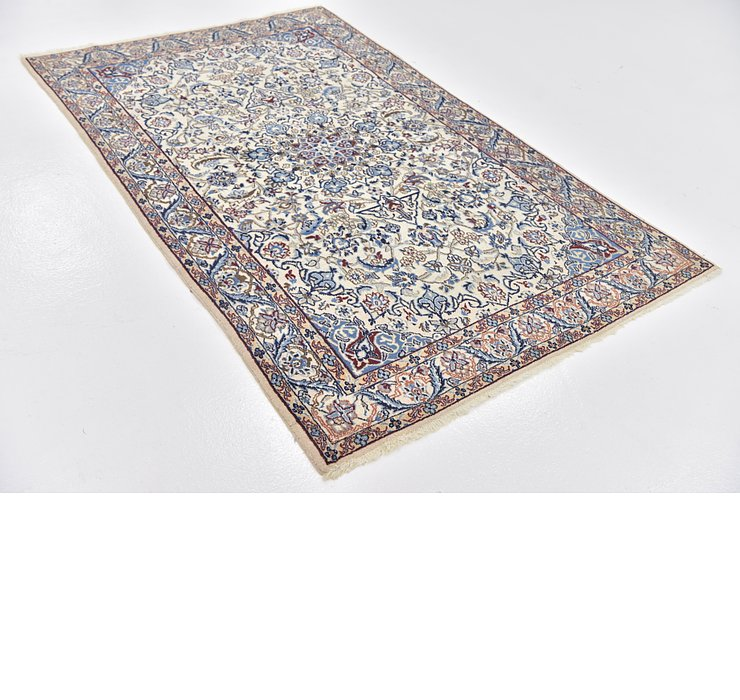 4' 10 x 6' 9 Nain Persian Rug