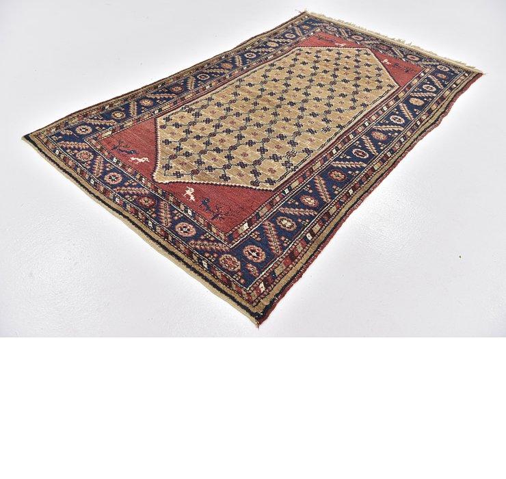 4' 2 x 7' 5 Koliaei Persian Rug