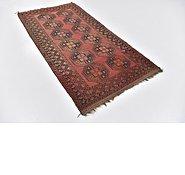 Link to 3' 8 x 7' Afghan Akhche Oriental Rug