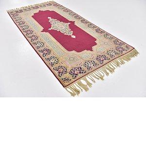HandKnotted 4' 2 x 8' 3 Kerman Persian Runner Rug