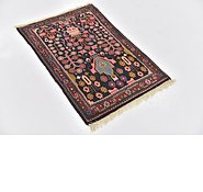 Link to 2' 3 x 3' 3 Hamedan Persian Rug