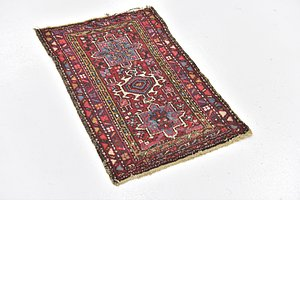 HandKnotted 1' 10 x 2' 10 Gharajeh Persian Rug