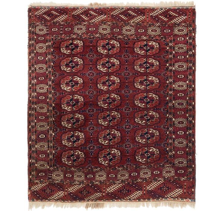 3' 10 x 4' 5 Bokhara Oriental Rug