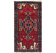 Link to 3' 6 x 6' 6 Hamedan Persian Rug