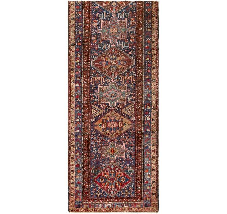 3' 5 x 8' 4 Karaja Persian Runner Rug