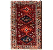 Link to 112cm x 183cm Ghashghaei Persian Rug