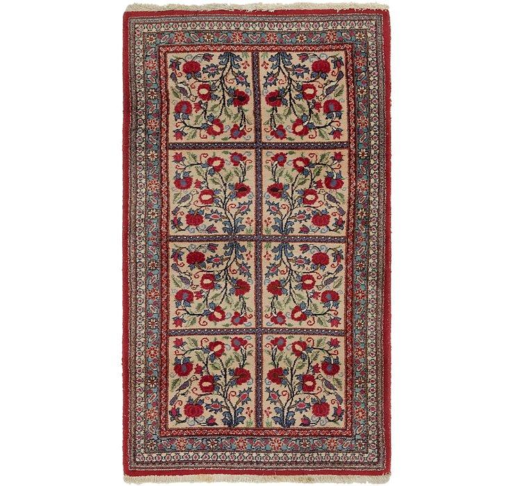 3' 5 x 6' 2 Bidjar Persian Rug
