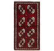 Link to 3' 3 x 6' 4 Afghan Akhche Runner Rug