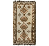 Link to 3' 7 x 6' 10 Shiraz-Gabbeh Persian Rug