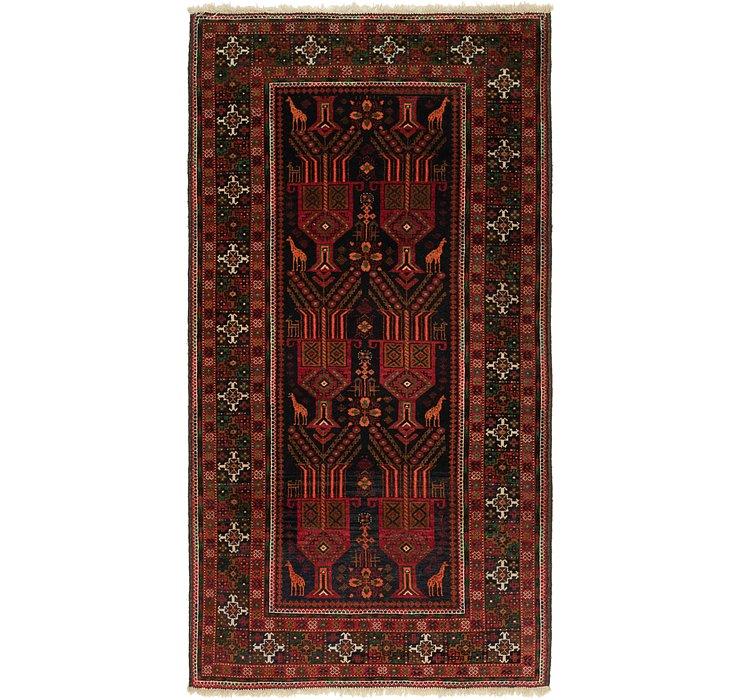 3' 6 x 6' 6 Balouch Persian Rug