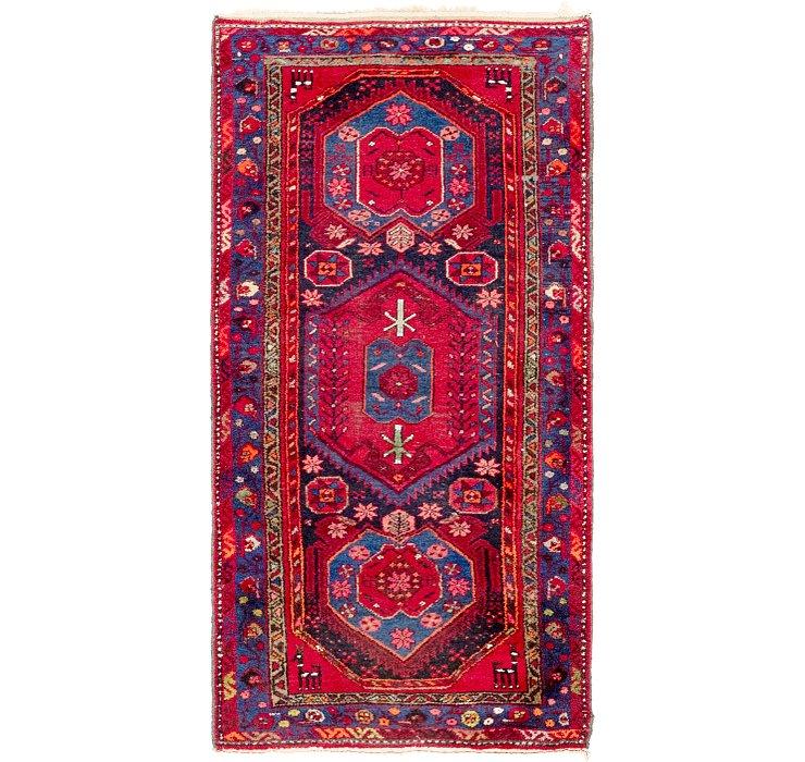 3' 5 x 7' Zanjan Persian Runner Rug