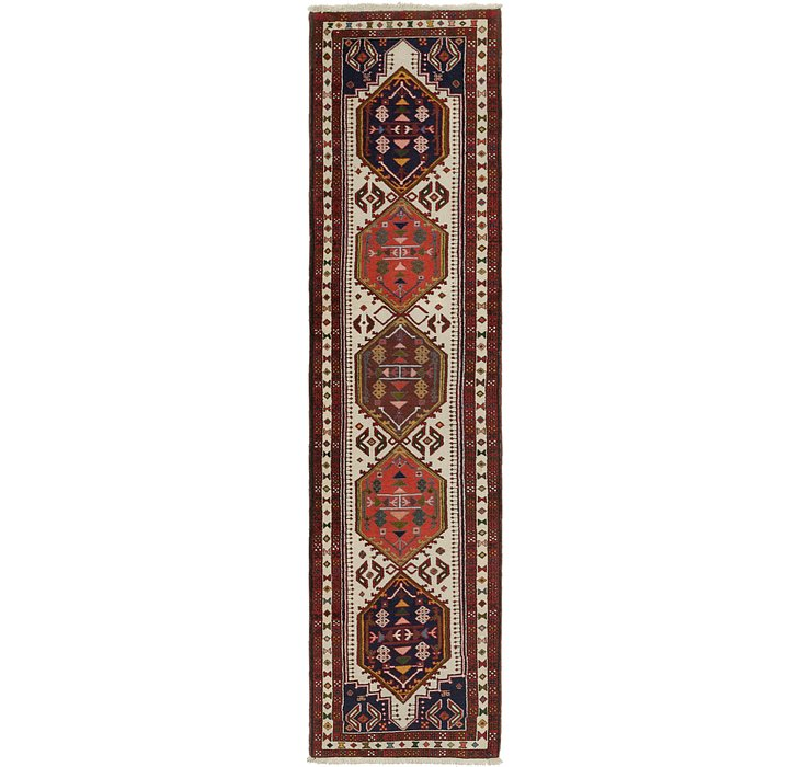 2' 5 x 10' 3 Ardabil Persian Runner ...