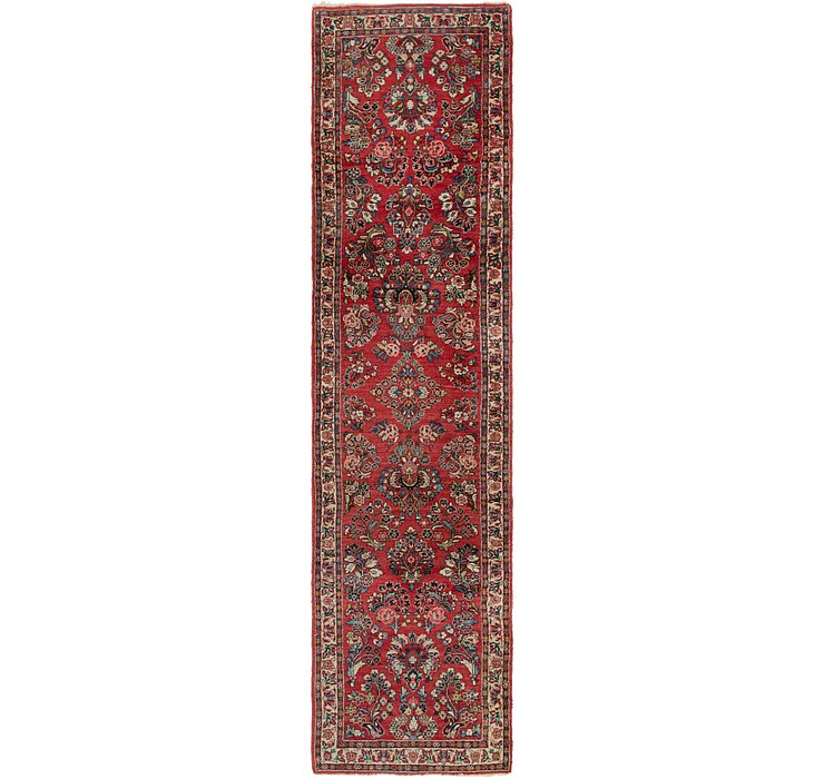 2' 9 x 11' 7 Sarough Persian Runner ...