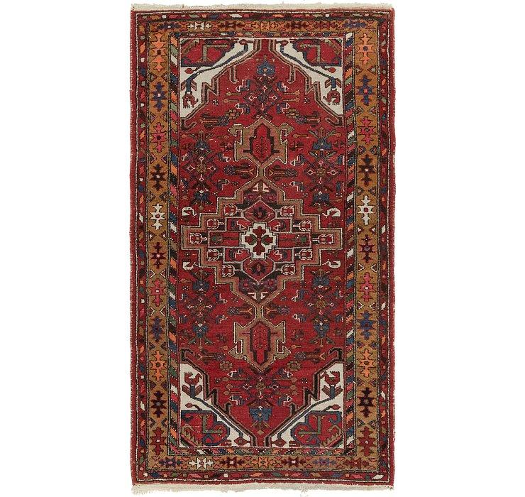 3' 6 x 6' 9 Hamedan Persian Rug