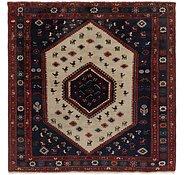 Link to 6' 9 x 7' Kelardasht Persian Square Rug
