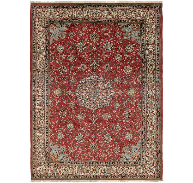 8' 8 x 12' Sarough Persian Rug