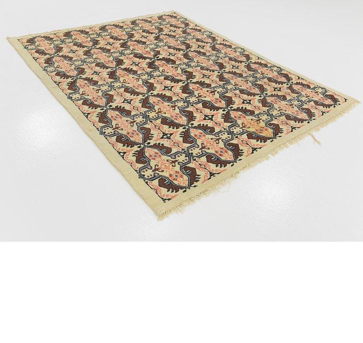 5' 8 x 7' 2 Moroccan Rug