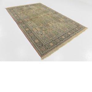 HandKnotted 6' x 9' Kashmir Oriental Rug
