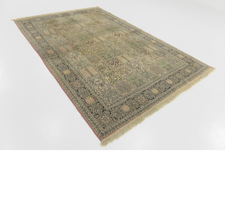 6' x 9' Kashmir Oriental Rug