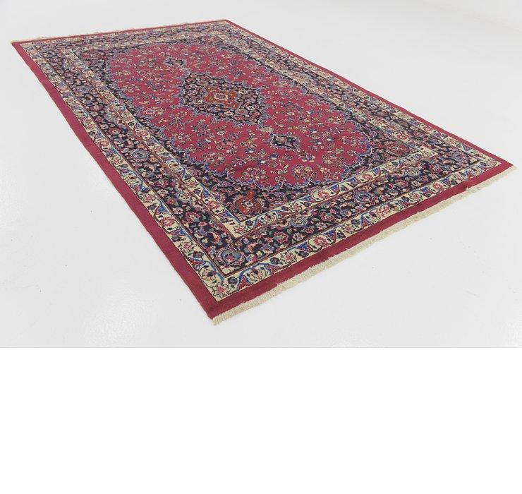 198cm x 305cm Mashad Persian Rug
