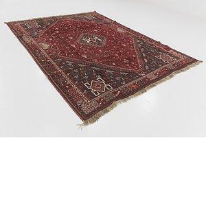 7' 2 x 9' 7 Ghashghaei Persian Rug