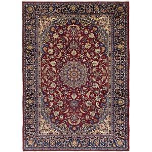9' x 12' 7 Isfahan Persian Rug