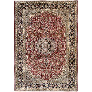 9' 4 x 13' 7 Isfahan Persian Rug