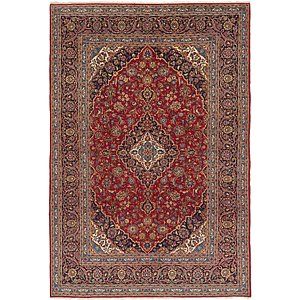 8' x 11' 5 Kashan Persian Rug