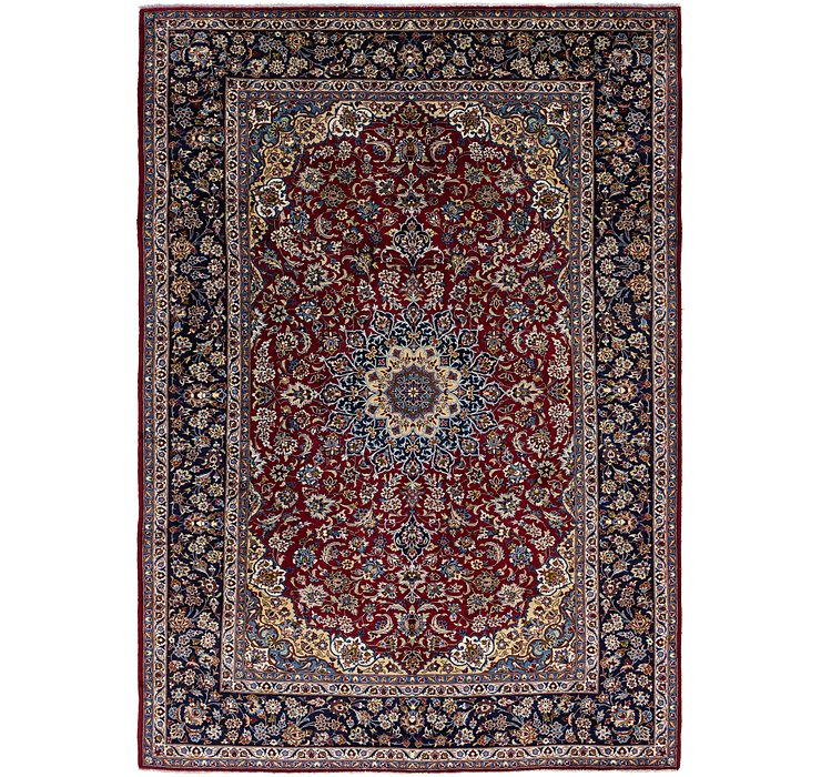 9' 8 x 13' 9 Isfahan Persian Rug