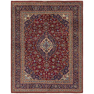 Link to 8' 5 x 11' Kashan Persian Rug page