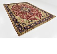 Link to 8' 2 x 11' 4 Tabriz Persian Rug