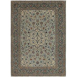 8' x 12' 2 Kashan Persian Rug