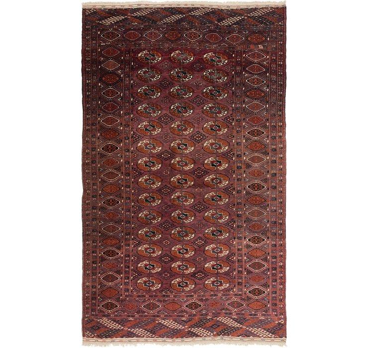 4' 10 x 7' Bukhara Oriental Rug