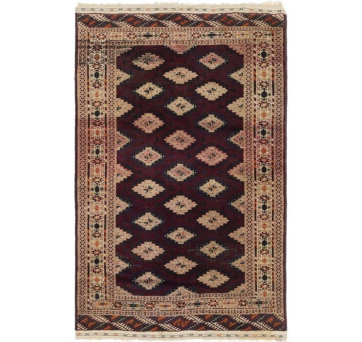 3' 10 x 6' 2 Bokhara Oriental Rug