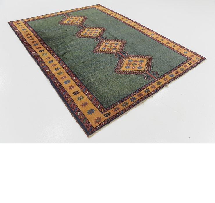 6' 2 x 8' Shiraz-Gabbeh Persian Rug