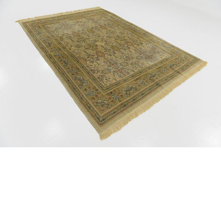 6' 6 x 8' 8 Tabriz Oriental Rug