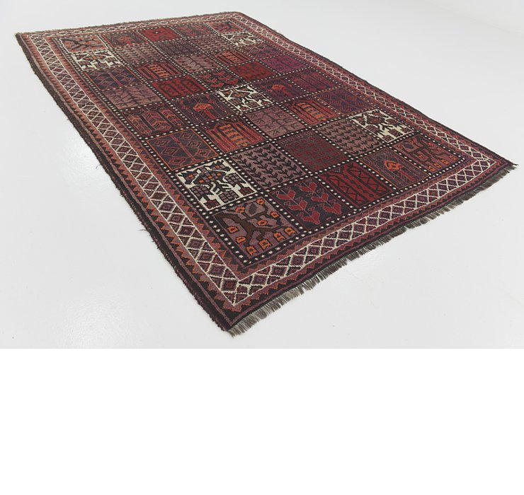 6' 5 x 9' Shiraz Persian Rug