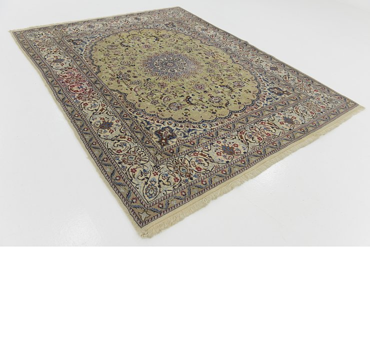 198cm x 245cm Nain Persian Rug