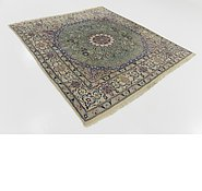 Link to 6' 5 x 6' 8 Nain Persian Square Rug