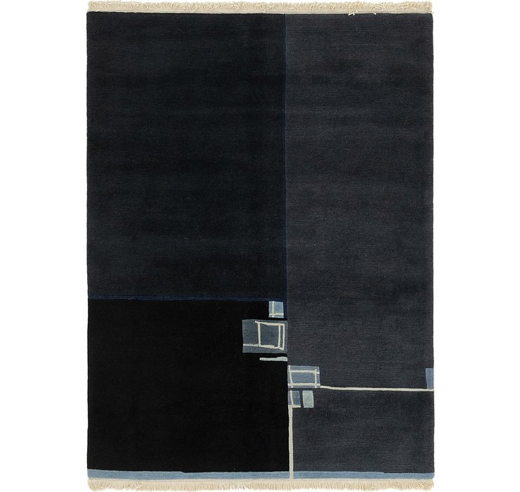 HandKnotted 5' x 6' 7 Nepal Rug