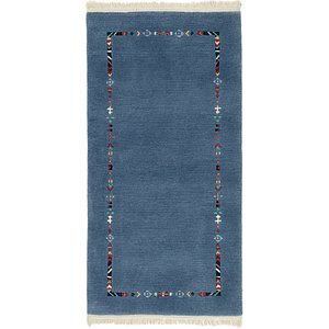 HandKnotted 2' 5 x 4' 9 Nepal Rug