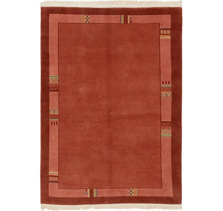 4' 7 x 6' 5 Nepal Rug