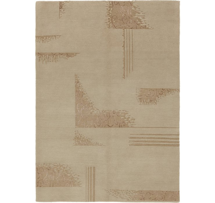 HandKnotted 4' 8 x 6' 7 Nepal Rug