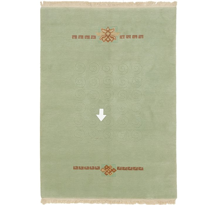 4' 8 x 6' 6 Nepal Rug