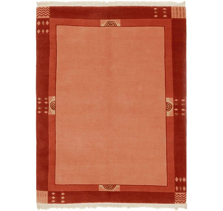 4' 7 x 6' 4 Nepal Rug