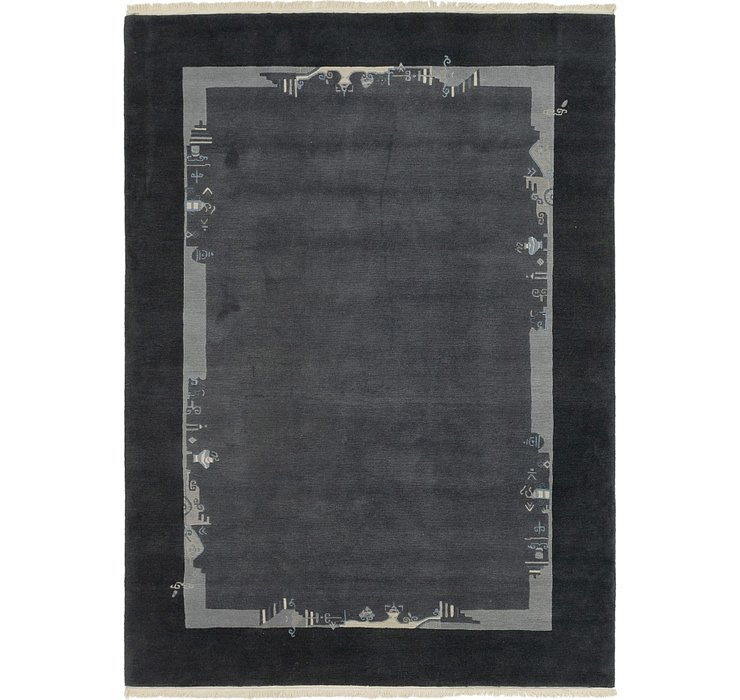 HandKnotted 7' 2 x 9' 9 Nepal Rug
