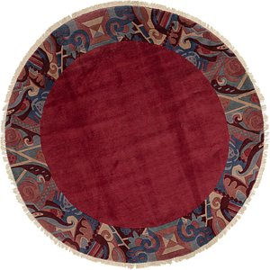 8' 9 x 8' 9 Nepal Round Rug