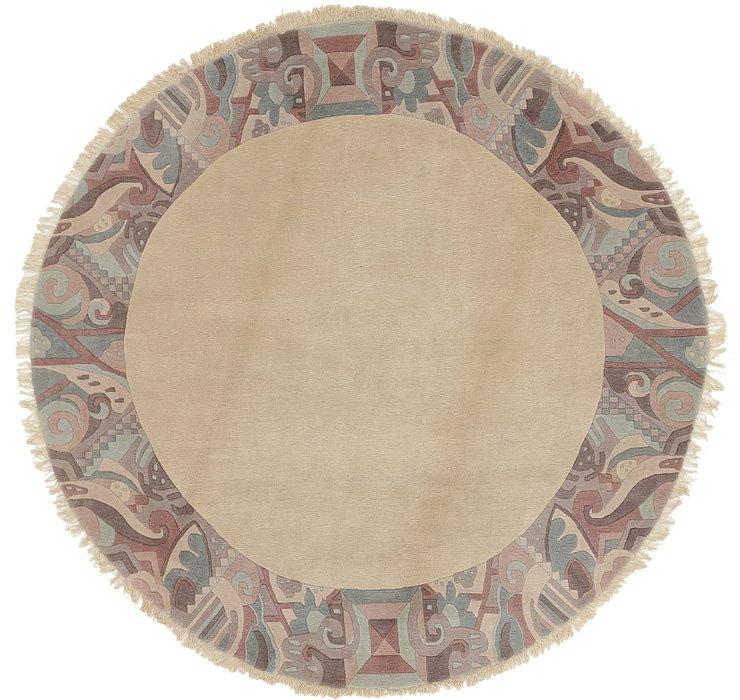 9' 2 x 9' 2 Nepal Round Rug