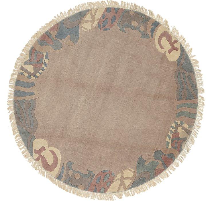 9' 7 x 9' 10 Nepal Round Rug